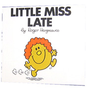 Little Miss Late Book