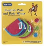 Breyer English Pads & Polo's Hot Colours…