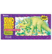 Dino Math Tracks Place-Value Game