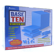 Plastic Base Ten Starter Set