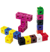 Learning Resources Snap Unifix Cubes (Set of 100)