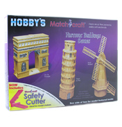 Hobby's Match-Craft Tower of Pisa Matchstick…