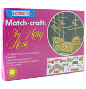 Mary Rose Matchstick Model