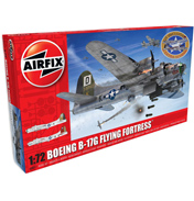 Boeing B-17G Flying Fortress with Extra Decals (Scale 1:72)