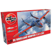 De Havilland Vampire T.11/J-28C (Scale 1:72)