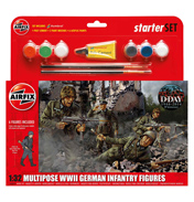 Multipose WWII German Infantry