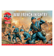 WWI French Infantry (Scale 1:76)