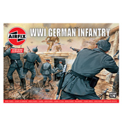 WWI German Infantry (Scale 1:76)