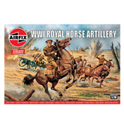 WWI Royal Horse Artillery (Scale 1:76)