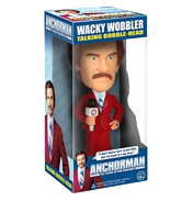 Anchorman Ron Burgundy Talking Bobble Head