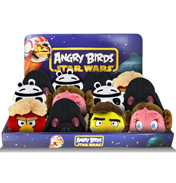 "Angry Birds Star Wars 5"" Storm Trooper Plush"
