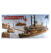 King of the Mississippi Paddle Steamer (Scale 1:80)