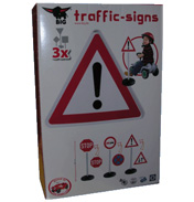 BIG Traffic Signs