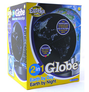 Brainstorm 2 in 1 Globe Earth by Day Earth by…