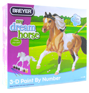 Breyer 3D Paint By Numbers Kit