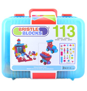 Bristle Blocks Deluxe Builder Case (113 Piece)