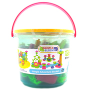 Jungle Adventure Bucket (128 Piece)