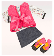 Cabin Chic Dolls Outfit
