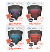Chillfactor Squeeze & Flip Jelly Maker RED