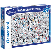 "Disney 101 Dalmatians ""Impossible"" 1000 Piece Jigsaw Puzzle"
