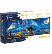 Disney Mickey & Minnie High Quality Panorama 1000 Piece Jigsaw Puzzle