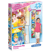 Disney Princess Measure Me 30 Piece Jigsaw Puzzle