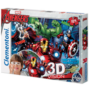 Clementoni Marvel The Avengers 3D Vision Jigsaw…
