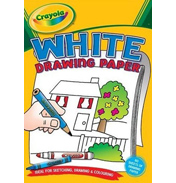 Crayola A4 White Drawing Paper 60 Sheets
