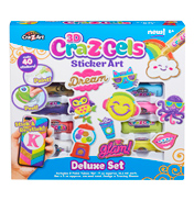 Craz-Z Gels Sticker Art Deluxe Set