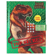 Depesche Dino World Top Secret Diary with Code