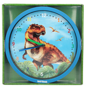 Dino World Wall Clock