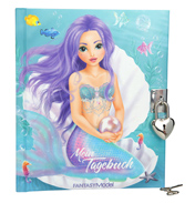 Fantasy Model Mermaid Diary with Padlock