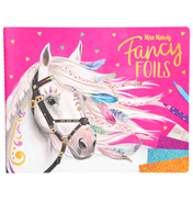 Depesche MISS MELODY Fancy Foils Colouring Book