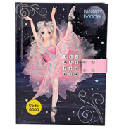 Fantasy Model Ballerina Diary with Code