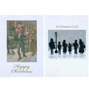 Charles Dickens Society Christmas Cards 10 Pack (5…