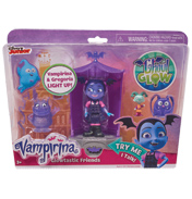 Vampirina Glowtastic Friends Set with Glow Chamber