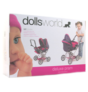Dolls Pram & Carrier