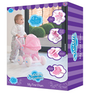 Dream Creations 4-in-1 My First Doll Pram