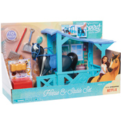 Dreamworks Spirit Riding Free Classic Horse & Stable Playset