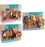 Dreamworks Spirit Riding Free Small Doll & Horse Set