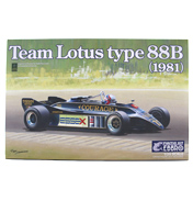 Ebbro Team Lotus Type 88B (1981) Model Set (Scale…
