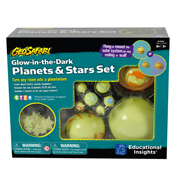 Geosafari Glow in The Dark Planets & Stars Set