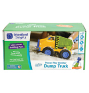 Design & Drill Power Play Vehicles Dump Truck