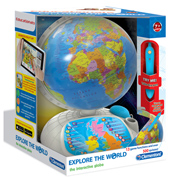 Clementoni Explore The World The Interactive Globe