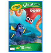 Disney Finding Dory Giant Colouring Pages