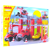 abrick Fire & Rescue Station Playset