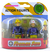 Fireman Sam 2 Figure Pack- Rescue Sam & Penny