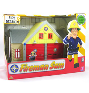 Fireman Sam Playset- Mini Fire Station