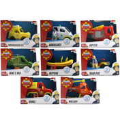 Fireman Sam Vehicles (SEE THROUGH BOXES)