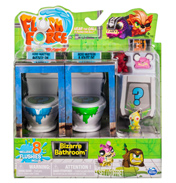 Flush Force Bizarre Bathroom 8 Pack (Series 1)
